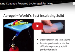 Insulating Coatings Powered by Aerogel Particles Webinar