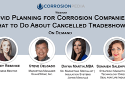 Covid Planning for Corrosion Companies: What to Do About Cancelled Tradeshows?