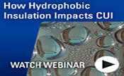 Free Webinar - Understanding How Hydrophobic Insulation Impacts CUI