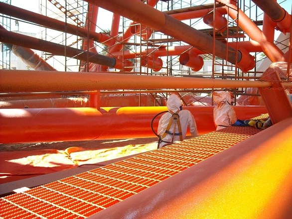 Flexible Coatings for Protection of Marine Structures
