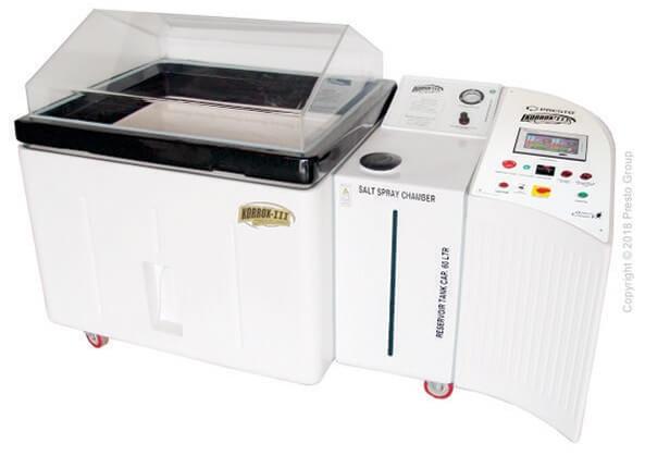 Figure 1. Salt spray test machine.