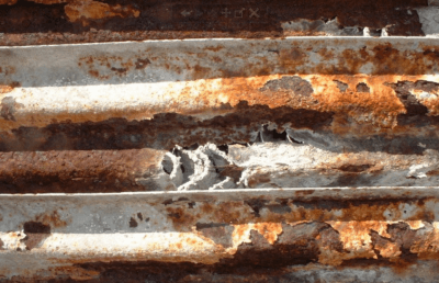 Cooling tower and exchanger corrosion.