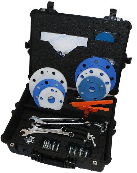 Flange Corrosion RFigure 2. Accessory kit for flange face forming applications.