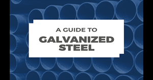 Image for A Guide to Galvanized Steel