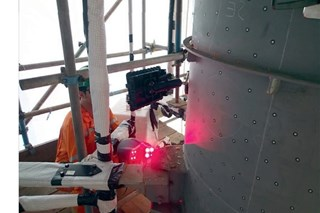 Can laser scanning be used for corrosion assessment with corrosion under insulation?