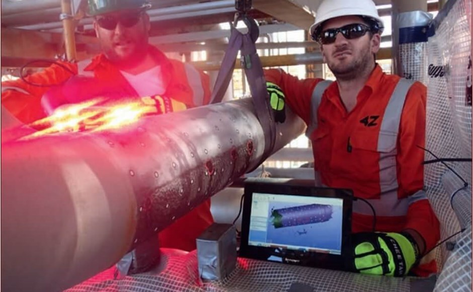 Using 3D Laser Analysis for Nondestructive Testing and Evaluation of Pipeline Corrosion