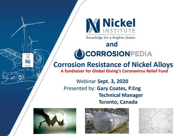 Corrosion Resistance of Nickel Alloys