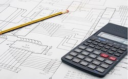 blueprint and calculator for engineering design process