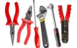 The Use of Vinyl Coatings for Tools and Small Metal Parts