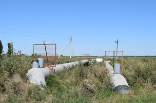 Why should cathodic protection and a coating be used together to protect against corrosion?