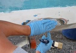 Do soluble salts affect paint bonding fiberglass carbon fiber hulls?