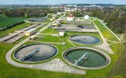 Cathodic Protection of a Sewage Treatment Dissolved Air Flotation Tank