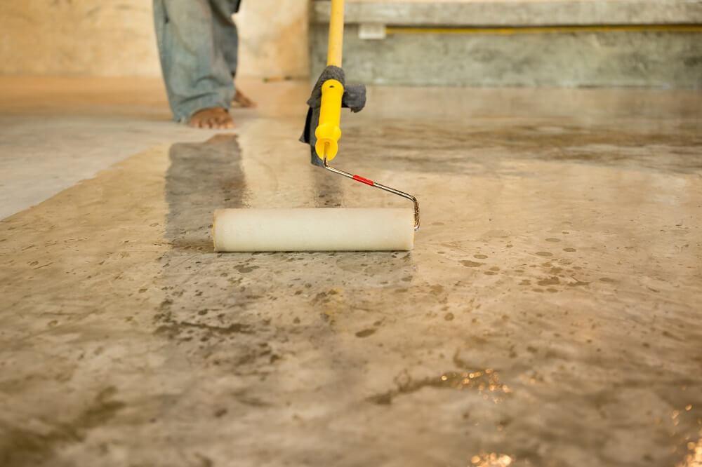 4 Types Of Concrete Floor Coatings And