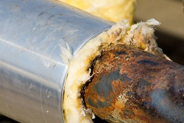 A Two-Step Solution to the High Cost of Corrosion Under Insulation