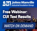 Free Webinar - CUI Test Results: Understanding the Corrosive Mechanism