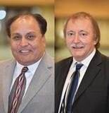 Dr. Mike O'Donoghue and Vijay Datta