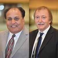 Profile Picture of Dr. Mike O'Donoghue and Vijay Datta