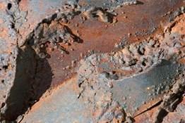 erosion corrosion rust rock ground soil brick cobblestone path pavement sidewalk walkway
