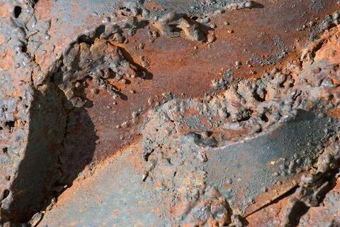 erosion corrosion rust rock ground soil brick cobblestone path pavement sidewalk walkway