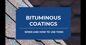 Image for Bituminous Coatings