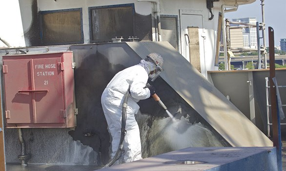 Wet Abrasive Blasting: An Overview of Surface Cleaning Alternatives